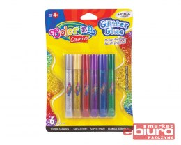 KIDS CREATIVE KLEJ BROKATOWY METALLIC 6SZTX10,5ML