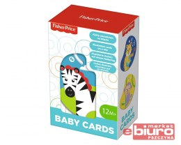 BABY CARDS ZWIERZĄTKA NA KLIPSIE FISHER PRICE