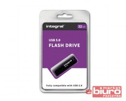 PAMIĘĆ PENDRIVE USB 3,0 32GB INTEGRAL BLACK