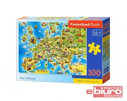 PUZZLE 100 B-111060 MAP OF EUROPE