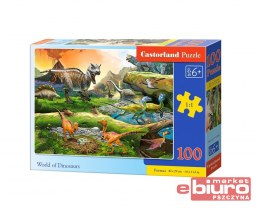 PUZZLE 100 B-111084 WORD OF DINOSAURS CASTOR