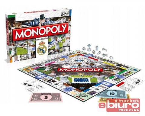 GRA MONOPOLY REAL MADRID 002370