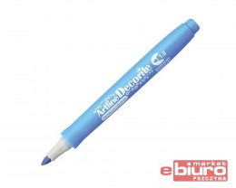 MARKER DECORITE1MM METALLIC BLUE TOMA