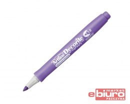 MARKER DECORITE1MM METALLIC PURPLE TOMA
