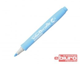 MARKER DECORITE1MM PASTEL BLUE TOMA