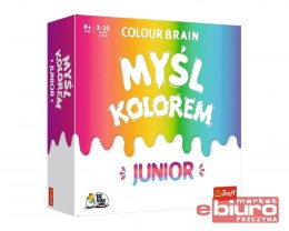 GRA COLOUR BRAIN JUNIOR TREFL 01763