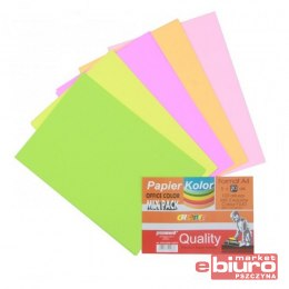 PAPIER OFFICE COLOR A4/200 -5 FLUO MIX