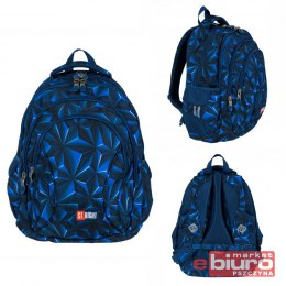 PLECAK 4 KOMOROWY STRIGHT BP-02 3D NAVY ABSTRACTIO