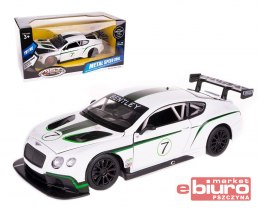 BENTLEY CONTINENTAL GT3 1:24 20CM ŚW DŹW 68266A