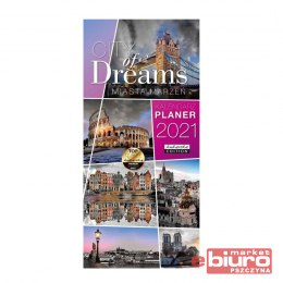 KALENDARZ PLANER CITY OF DREAMS PASSION